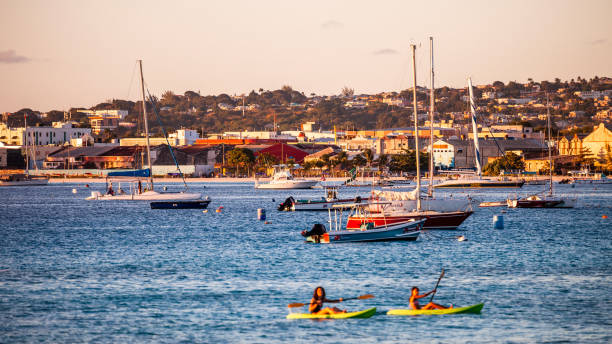 Brownes Beach, Bridgetown, Barbados stock photo