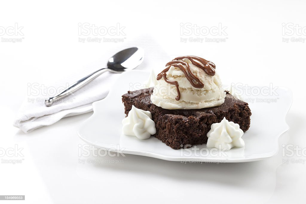 Brownie - foto de stock