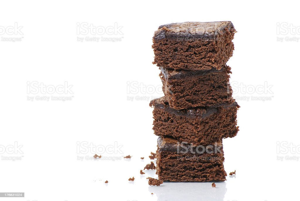 Torre de Brownie - foto de stock