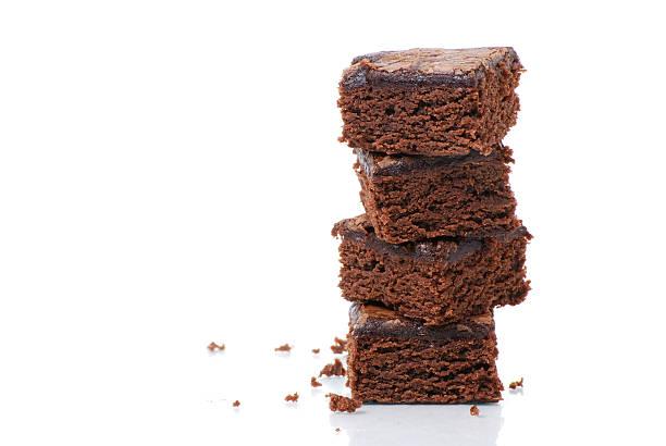 Torre di brownie - foto stock