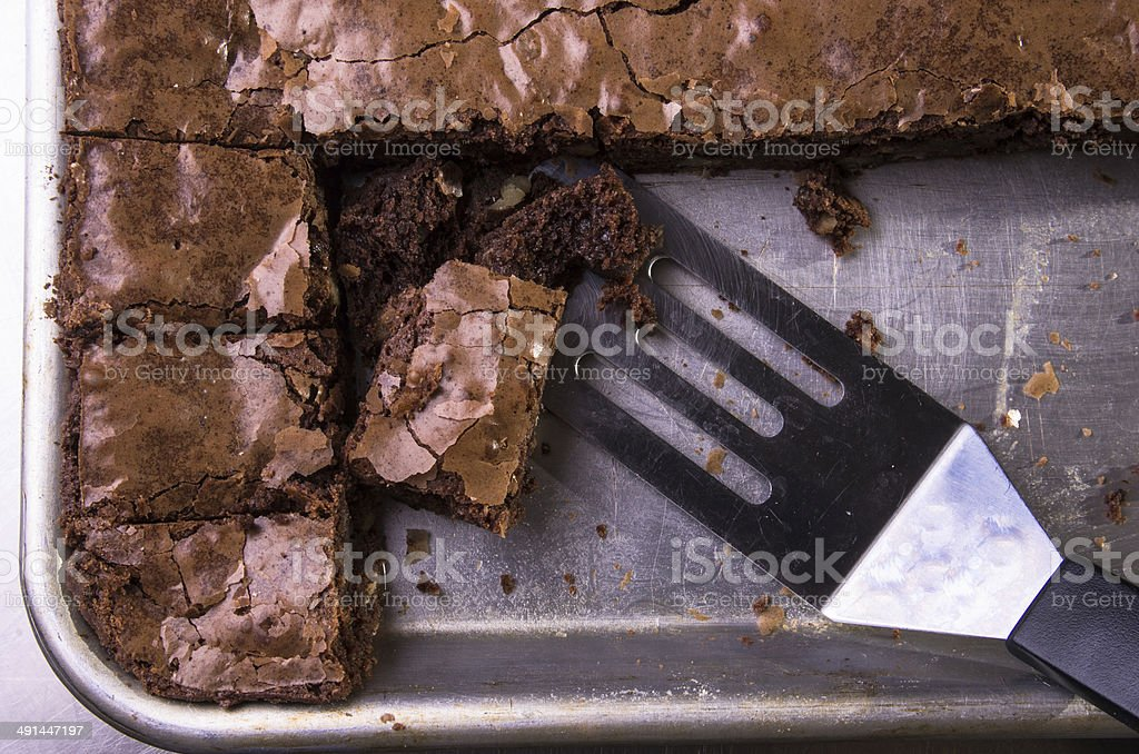 Brownies in pan – Foto