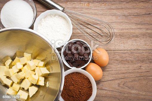 istock Brownie's ingredients. 635671970