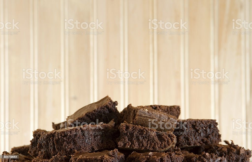 Brownies on Lower Thirds royalty-free stock photo