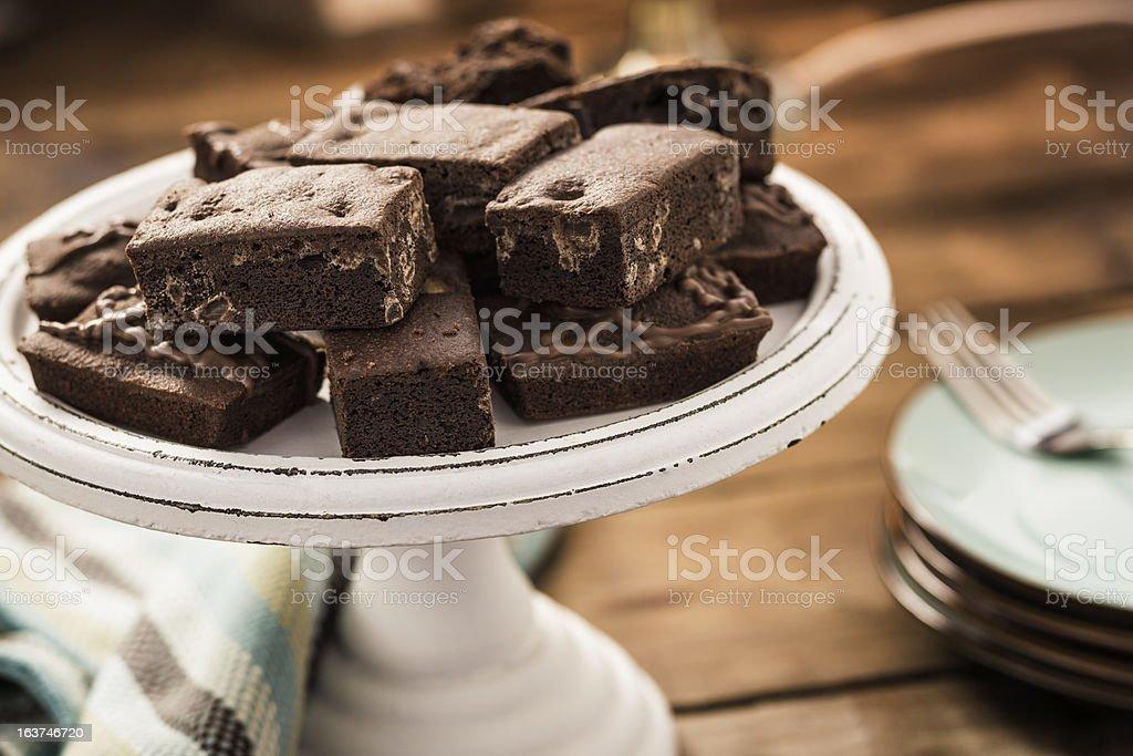 Brownies royalty-free stock photo