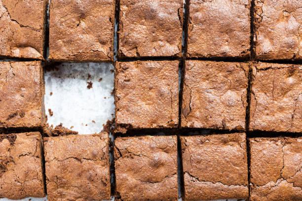 brownies - foto stock