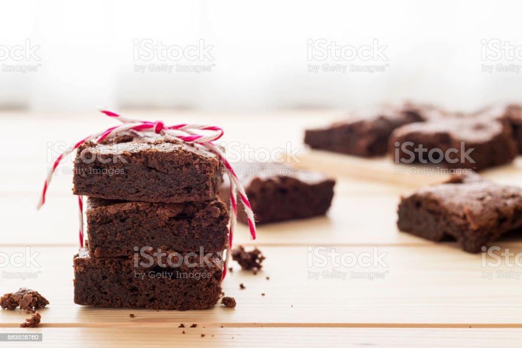 Bizcochos de chocolate - foto de stock