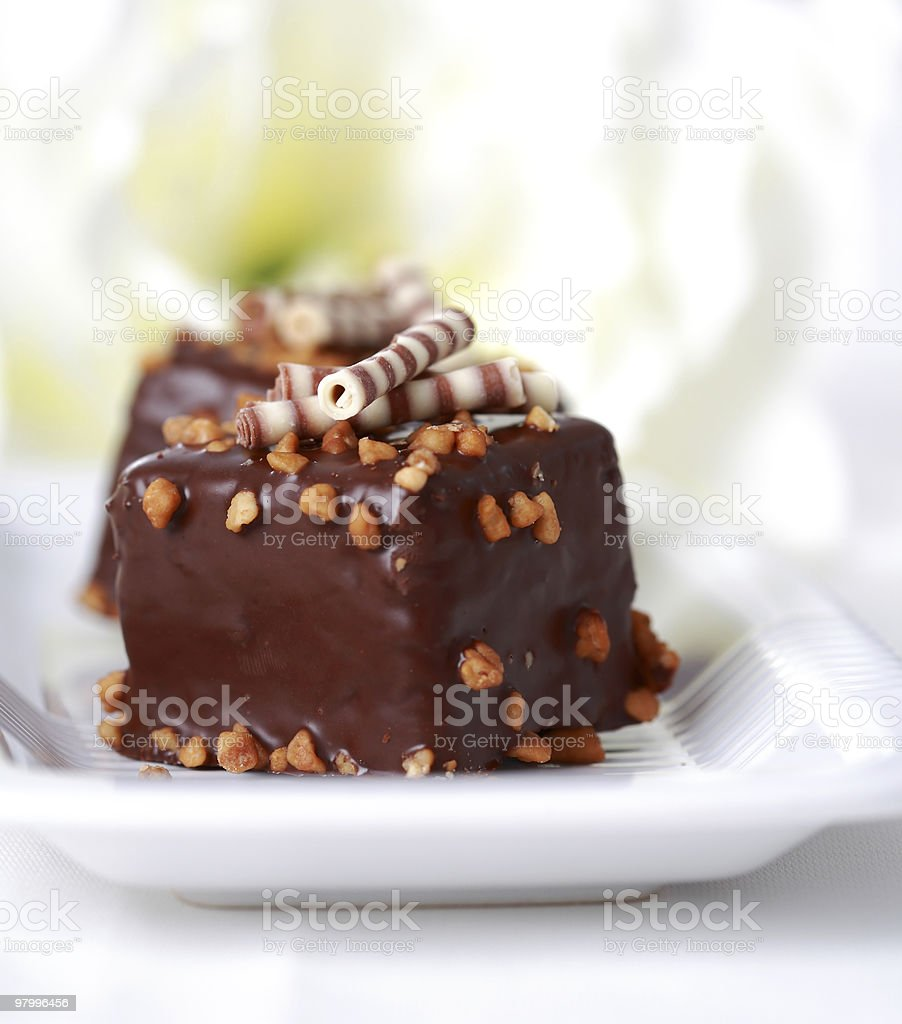 Brownies royalty-free stock photo