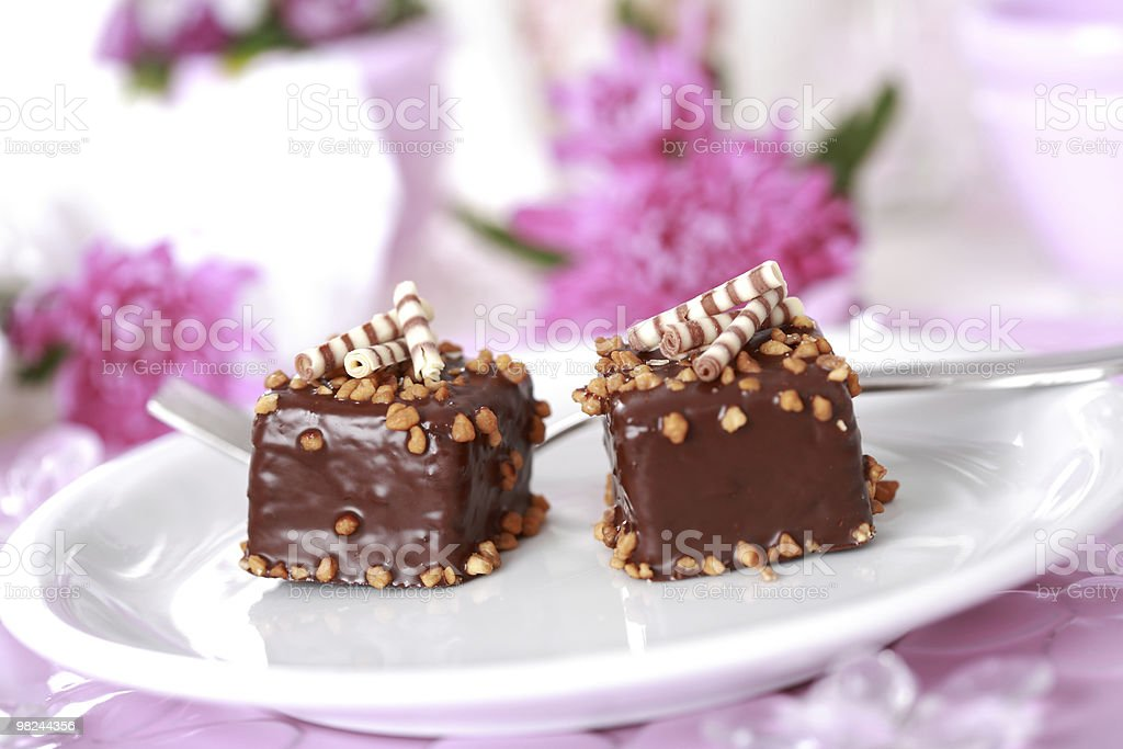 Brownie foto stock royalty-free