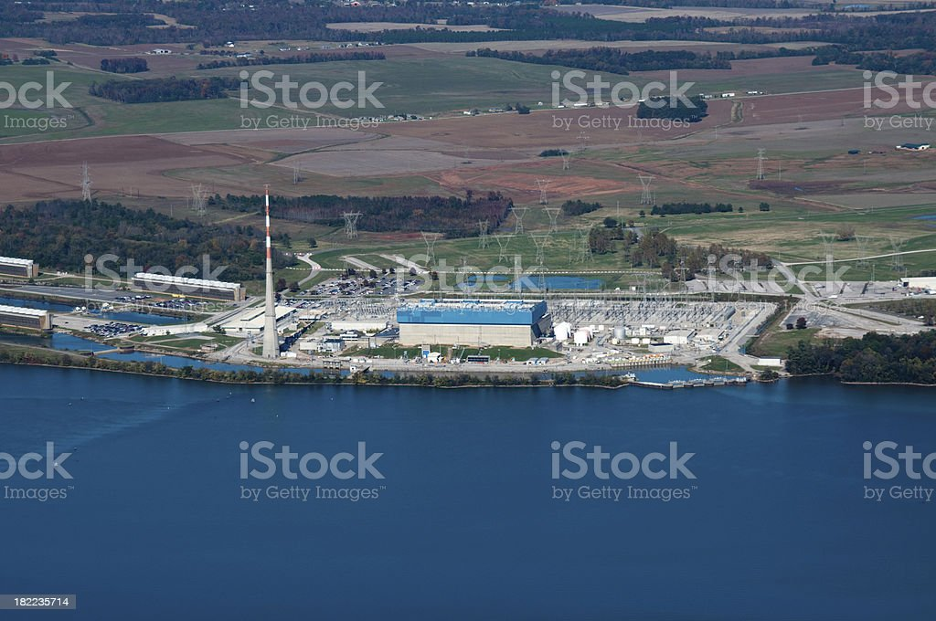 Browns Ferry Nuclear Power Plant royalty-free stock photo
