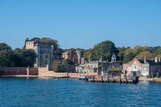 約翰·路易斯夥伴關係使用的布朗西島城堡 - john lewis 個照片及圖片檔