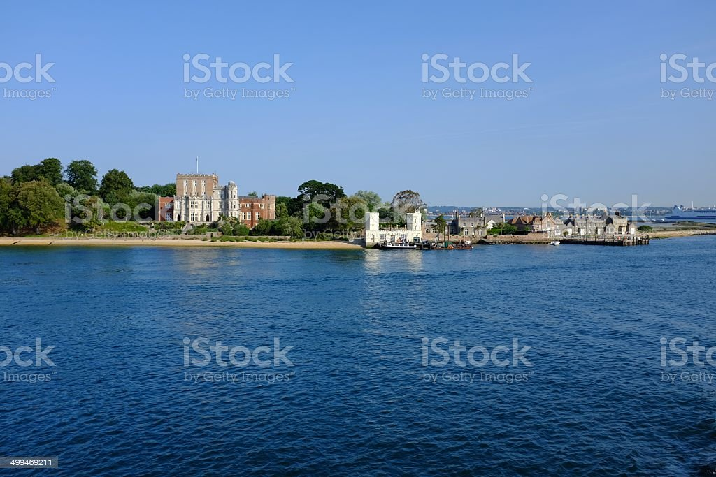 Brownsea Island stock photo