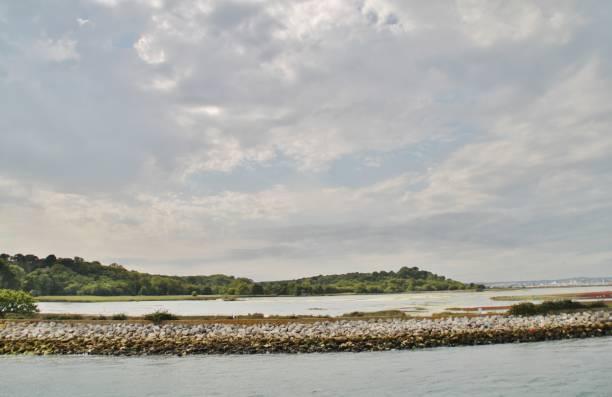 Brownsea Island stock photo