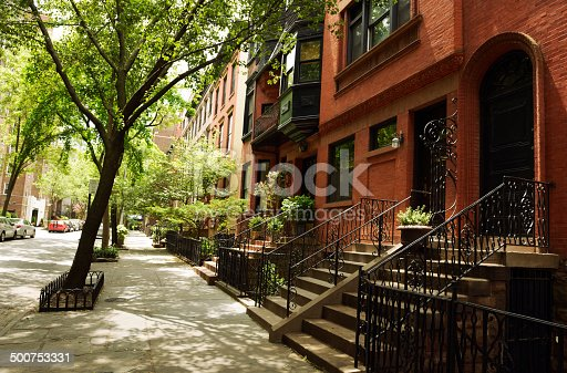 istock Brownstone,Brooklyn,NYC 500753331