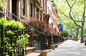 Brownstones, Brooklyn, NYC.