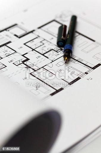 617749876 istock photo Browse through architectonic portfolio 618036868