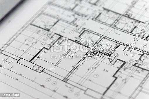 617749876 istock photo Browse through architectonic portfolio 623937900