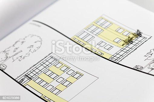 617749876 istock photo Browse through architectonic portfolio 624029386