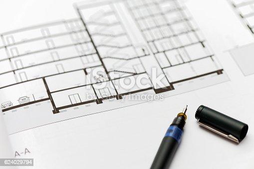 617749876 istock photo Browse through architectonic portfolio 624029794