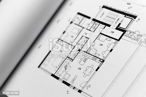617749876 istock photo Browse through architectonic portfolio 629616298