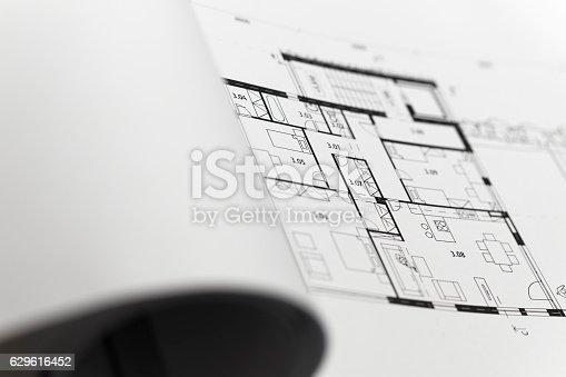 617749876 istock photo Browse through architectonic portfolio 629616452