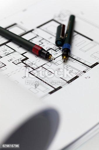 617749876 istock photo Browse through architectonic portfolio 629616796
