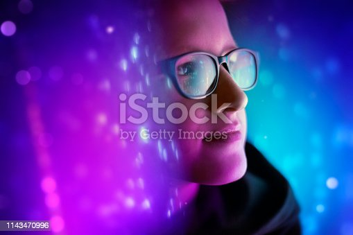 istock Browsing a Virtual World 1143470996