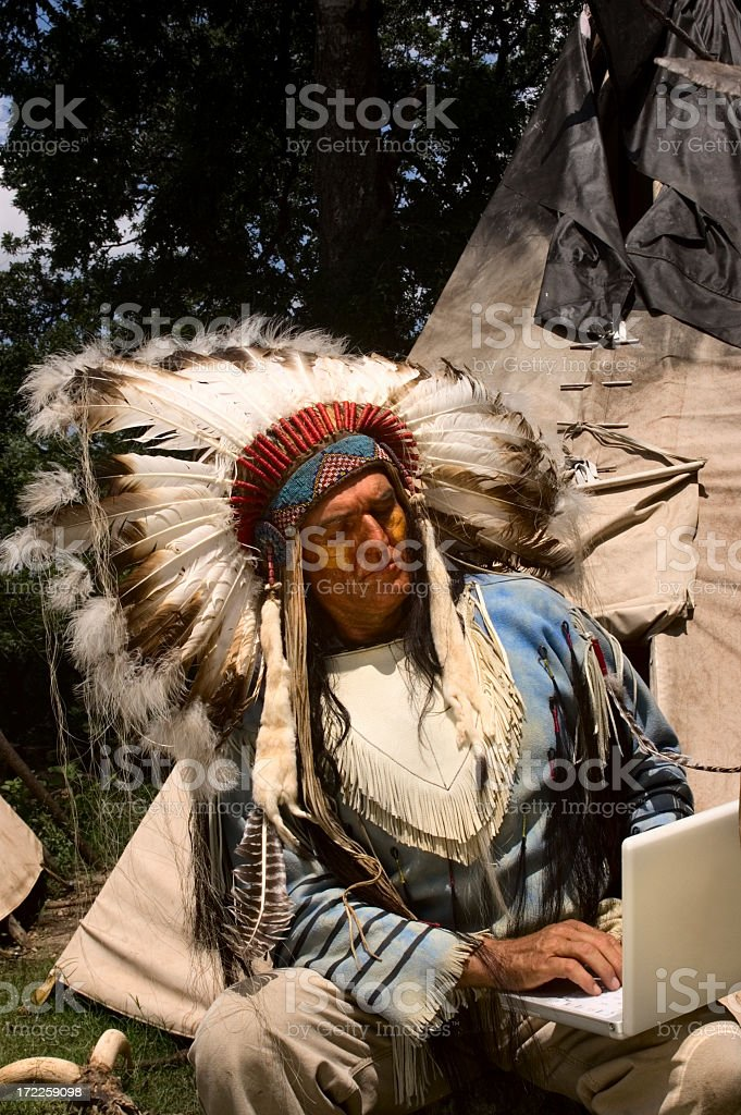 Browsing Eagle royalty-free stock photo