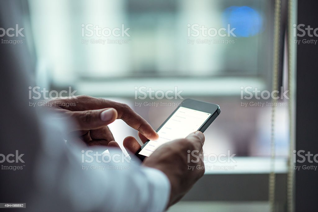 Browsing stock photo