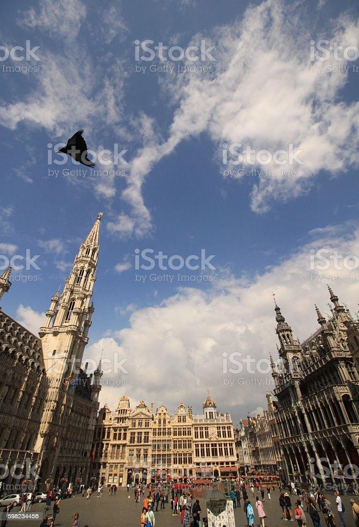 Brüssels ' Gute Stube' foto royalty-free