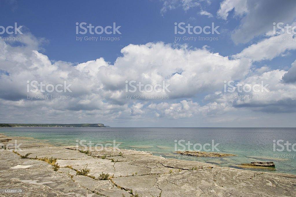 Bruce Peninsula, Ontario, Canada royalty-free stock photo