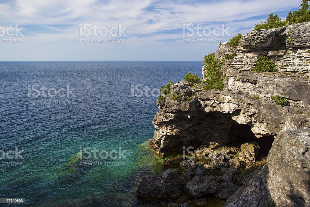 Bruce Peninsula Provincial Park stock photo