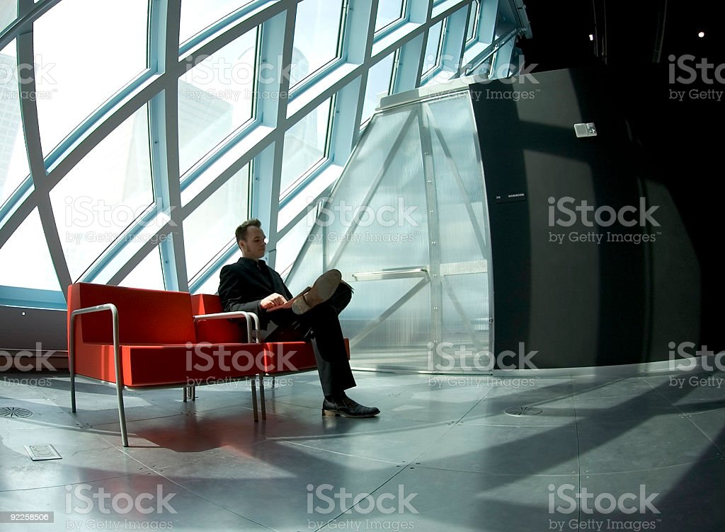 Bruce - Relaxing 1 royalty-free stock photo