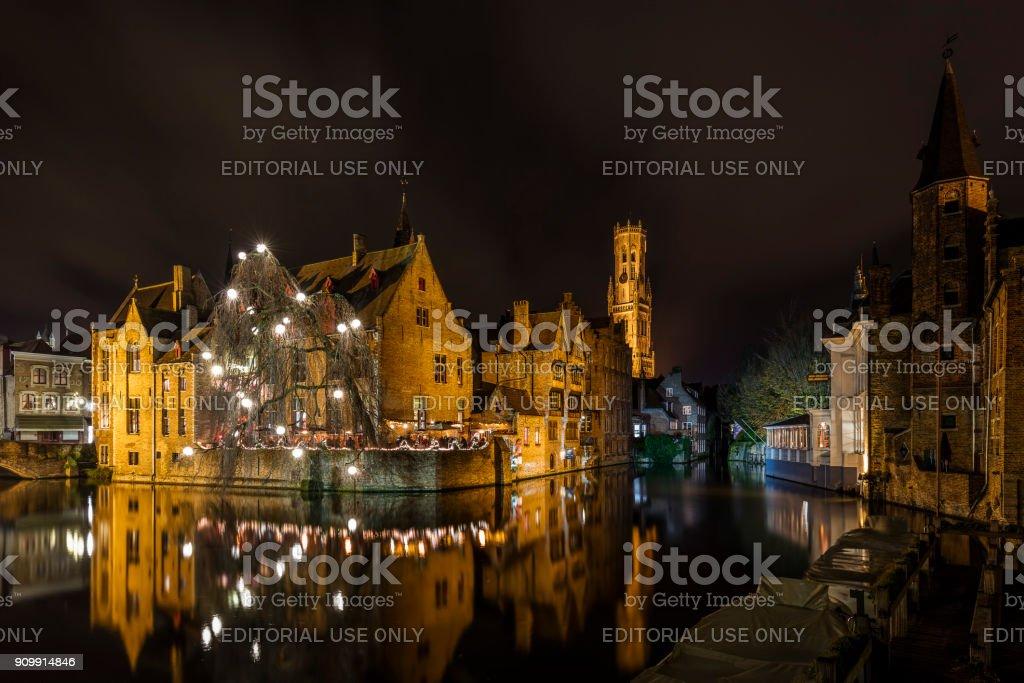 Bruges, de nuit - Photo