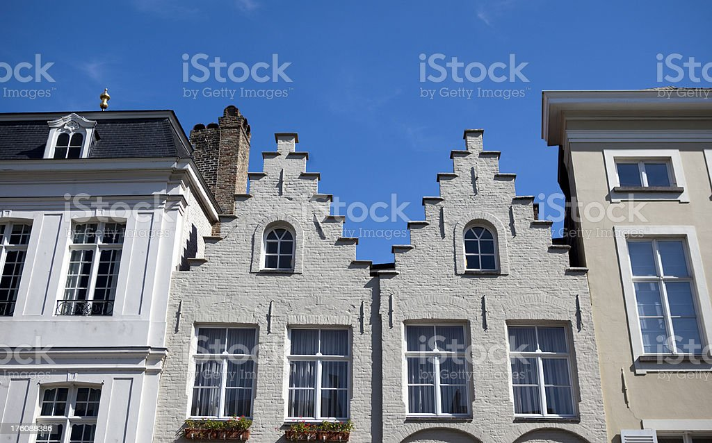 Bruges Belgium Architecture royalty-free stock photo