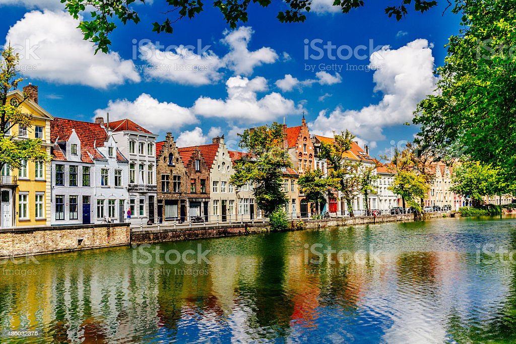 Bruges, Belgium stock photo