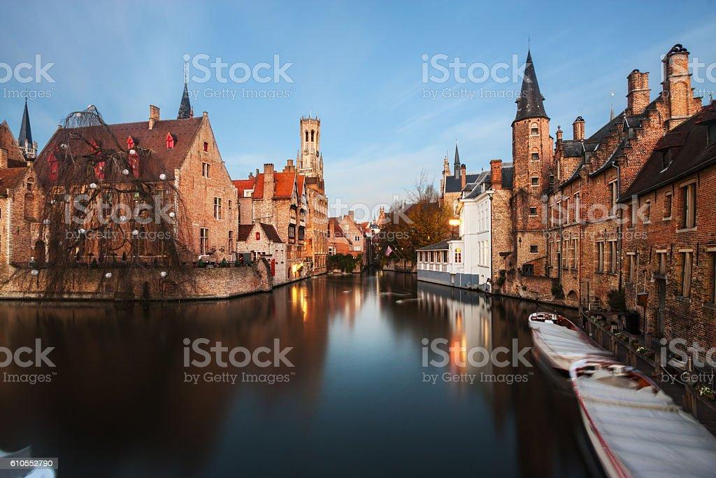 Bruges, Belgium. stock photo
