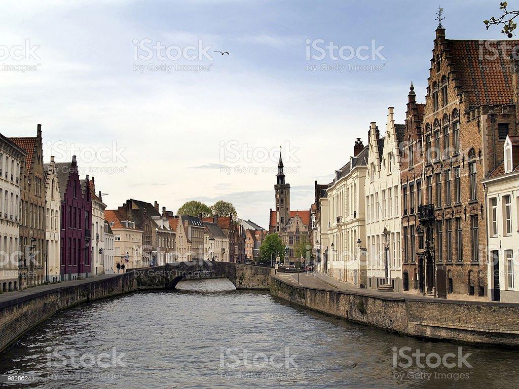 브뤼헤, 벨기에 royalty-free 스톡 사진