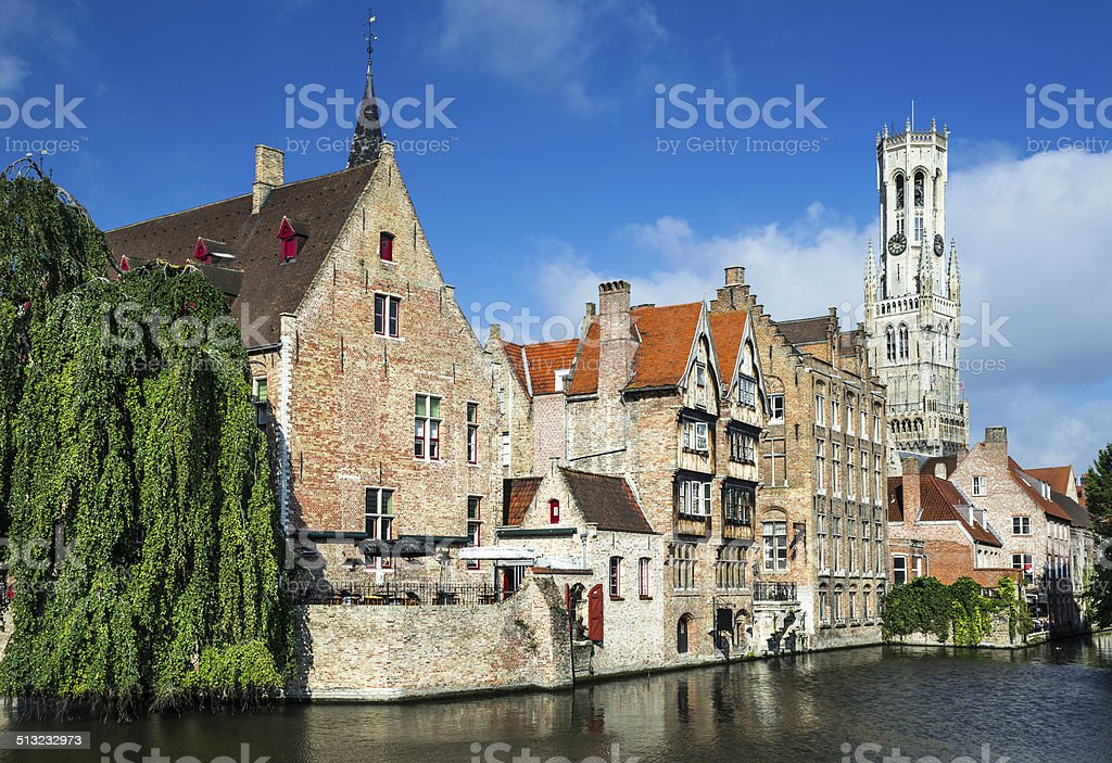Bruges, Brugge, Belgium stock photo