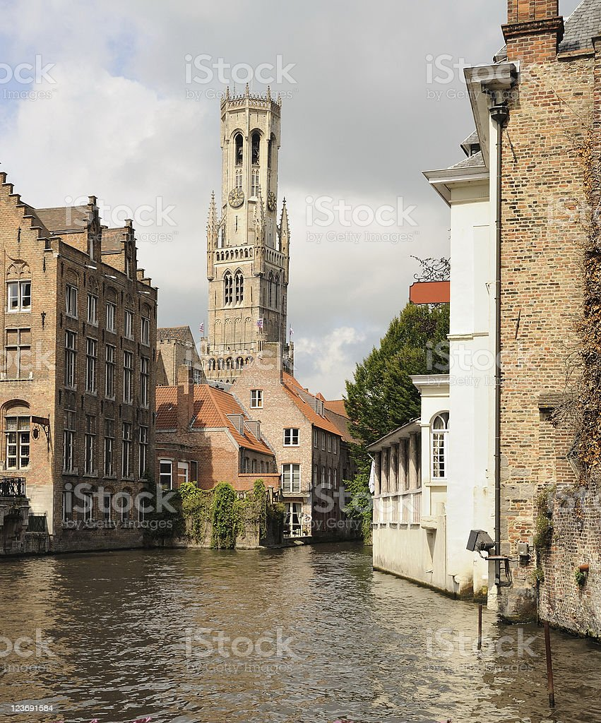 Bruges Canal royalty-free stock photo