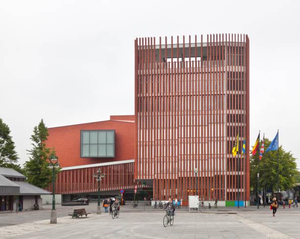 Bruges Concert Hall, Belgium stock photo