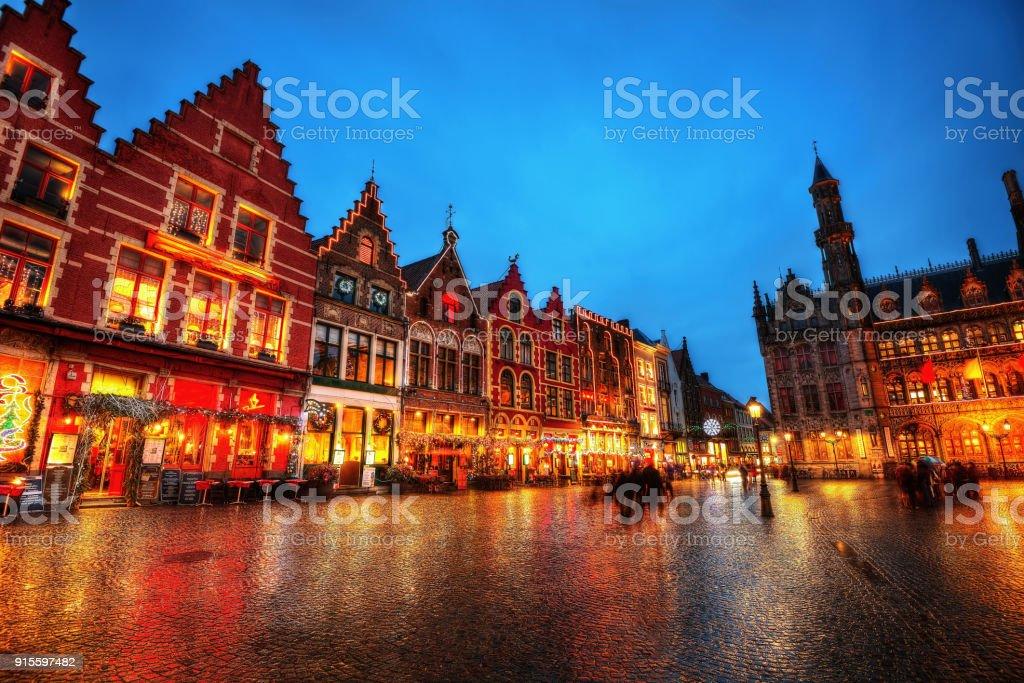 Place du marché Bruges Belgique - Photo