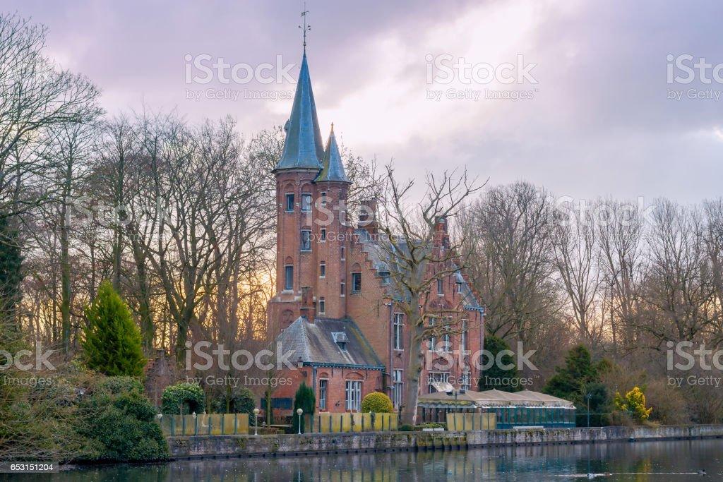 Bruges. Parc Minnewater - Photo