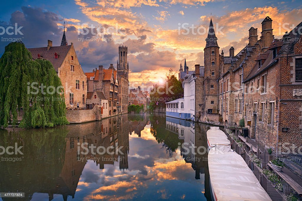 Bruges. royalty-free stock photo