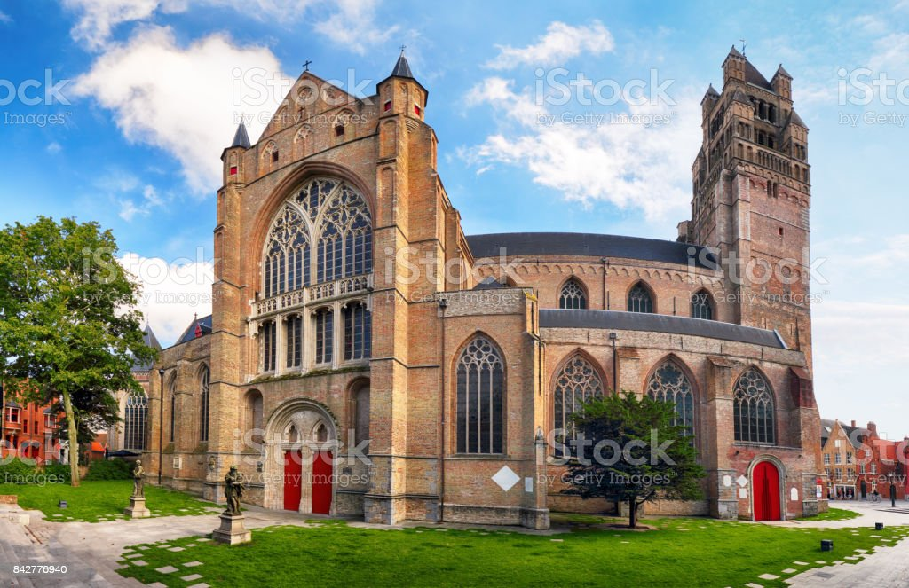 Bruges Saint Saviours Cathedral The Oldest Parish Church Of