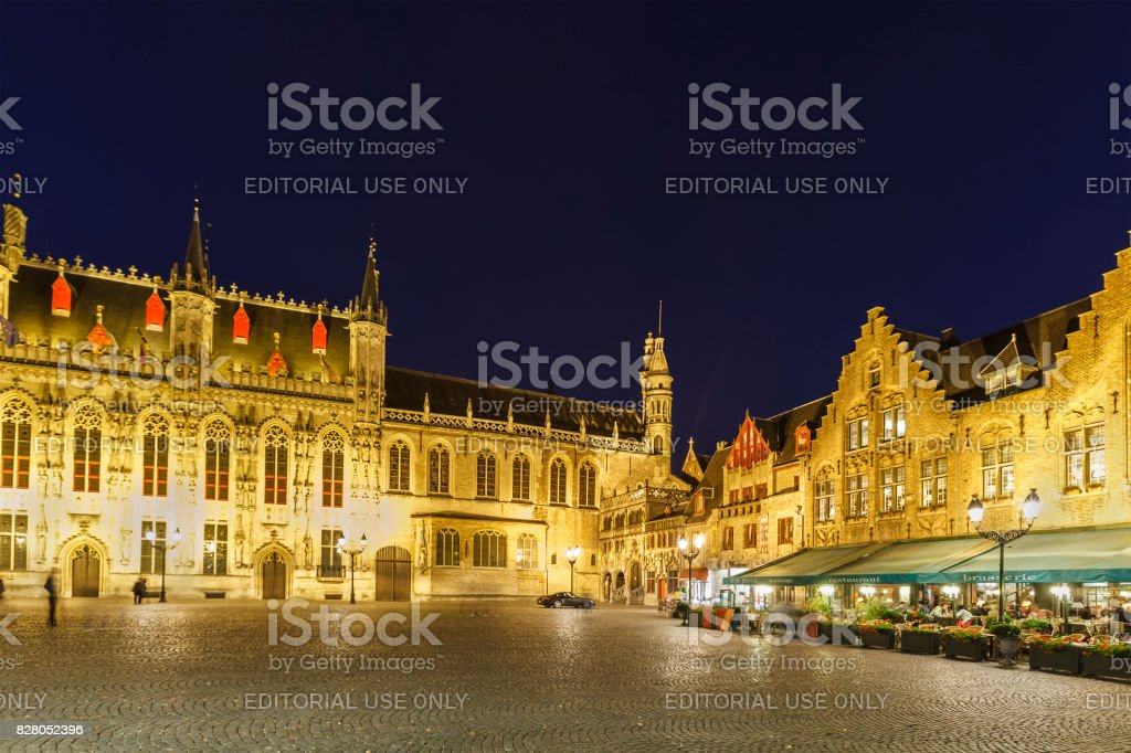 Bruges - the old town, Belgium stock photo