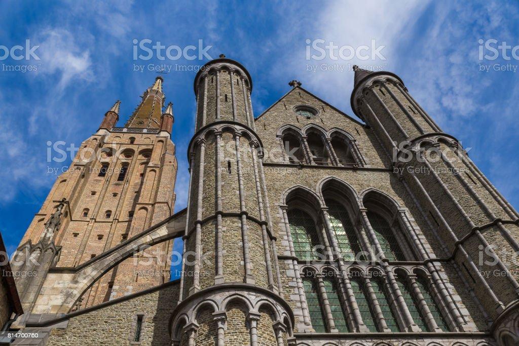 Brugge cityscape - Belgium stock photo