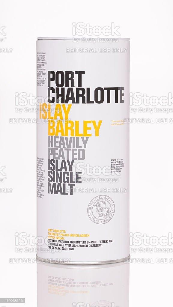 Bruichladdich port charlotte stock photo