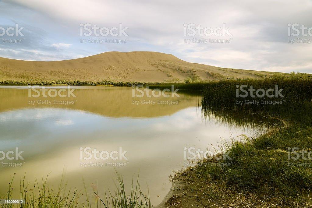 Bruneau Dunes State Park, Idaho, USA royalty-free stock photo