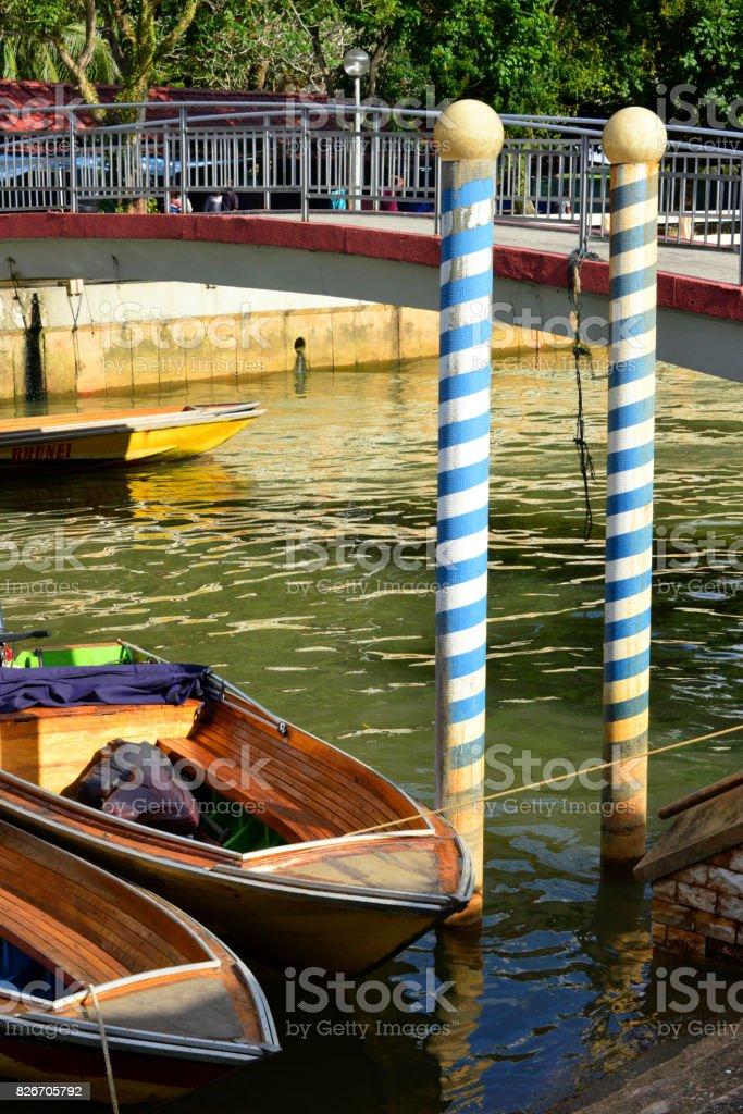 Brunei: Venise asiatique, Tamu Kianggeh, Subok rivière, Bandar Seri Begawan - Photo