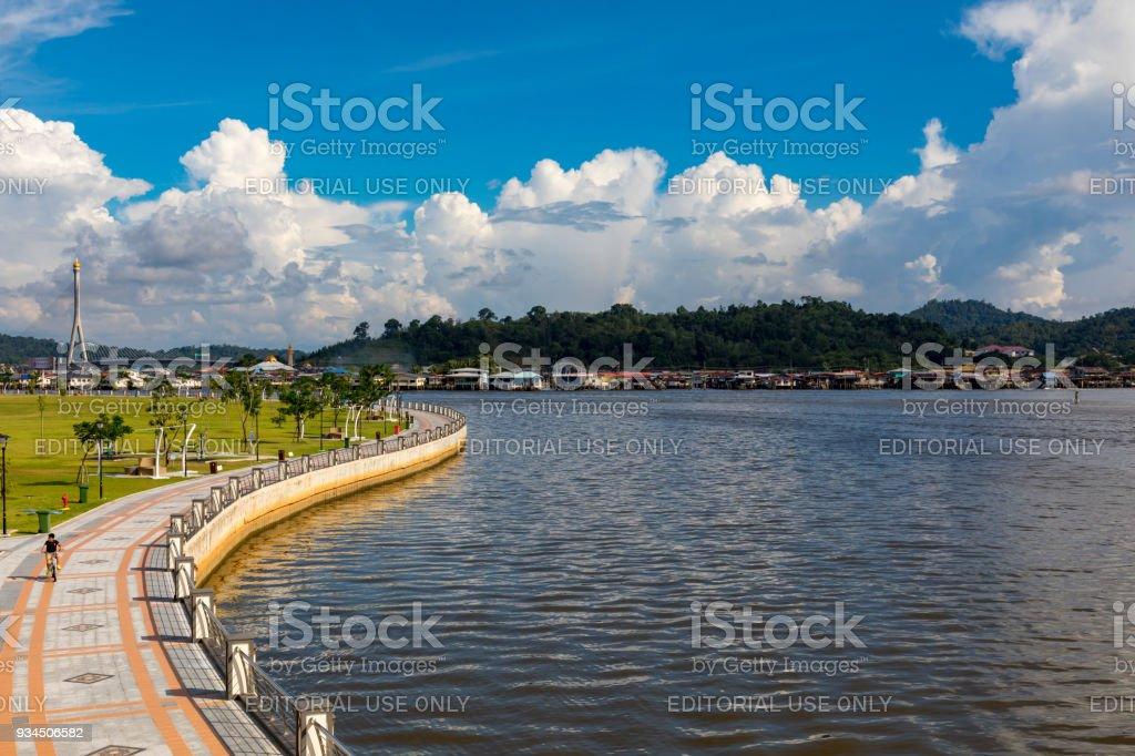Brunei Darussalam, Bandar Seri Begawan stock photo